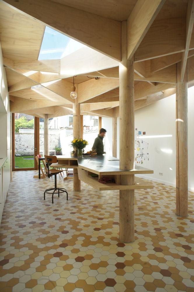 Nieuwe Badkamer Belgie ~ Een nieuwe keuken, een nieuwe badkamer een meer open huis