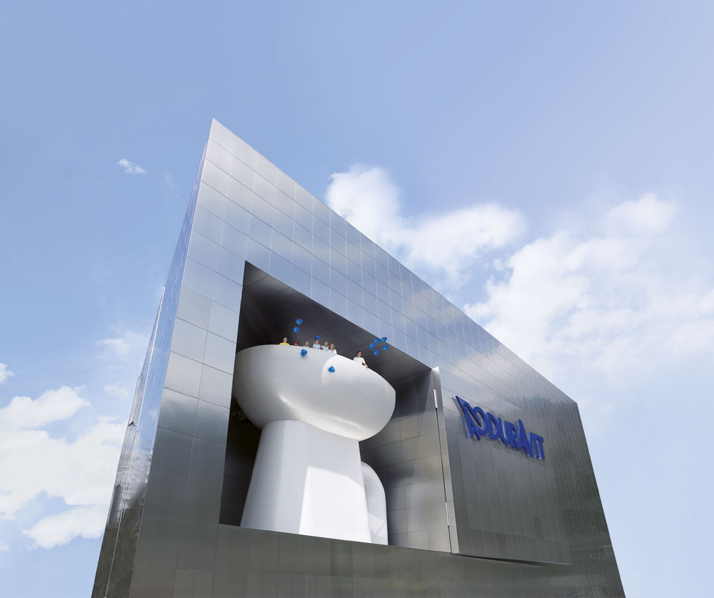 Headquarters of Duravit AG: Duravit Design Center in the Black Forest