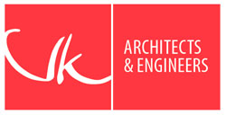 vk architects engineers logo